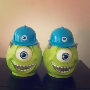 Monsters Inc. Sully mugs, vintage